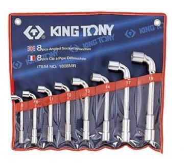 Bộ ống điếu 10-19mm 8 chi tiết Kingtony 1808MR