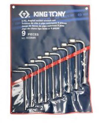 Bộ ống điếu 9 chi tiết 8-19mm Kingtony 1839MR