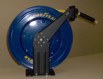 Cuộn dây hơi tự rút 3/8'' - Pneumatic hose reel 3/8''