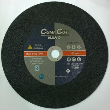 Đá cắt Inox 400x3.2x25.4 Cumi