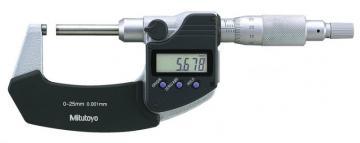 Panme đo ngoài điện tử trục không xoay 25-50mm/0.001mm Mitutoyo 406-251-30